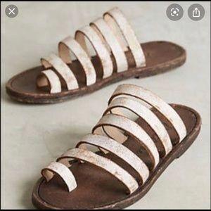 FP X MATISSE Rosie toe loop slide sandals